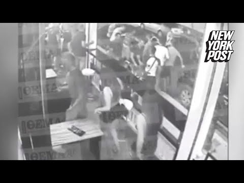 Chilling footage shows mob fatally pummel American tourist | New York Post