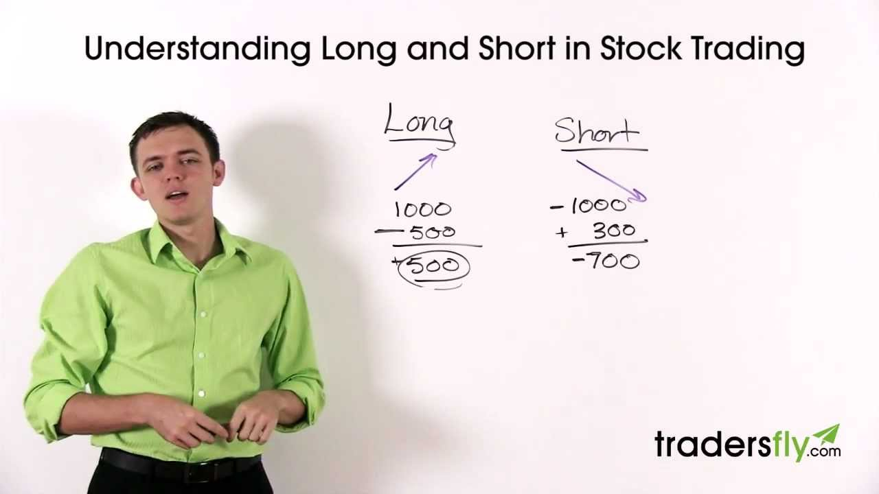 Understanding Long And Short Terms In Stock Market Trading