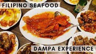 Filipino Seafood Feast | Pasay Seaside Dampa in Manila