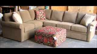 Rowe Furniture Brentwood Sectional Sofa I Barnett Furniture Trussville / Birmingham