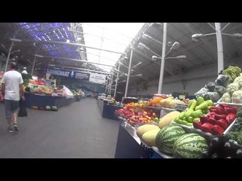 Vlog бандитов-инвалидов|Самара|Губернский крытый рынок|Цены на продукты