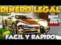 GTA V ONLINE DINERO LEGAL FACIL Y RAPIDO MINI GUIA METODO LEGAL DE DINERO PARA GTA 5 ONLINE