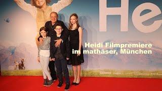 Heidi - Deutschlandpremiere @ mathäser Kino, München - Roter Teppich am 29.11.2015