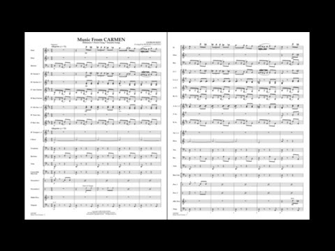 Music from Carmen by Georges Bizet/arr. Richard L. Saucedo mp3