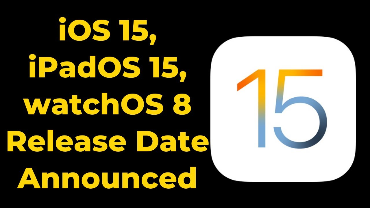 iPhone users will receive iOS 15 update on September 20