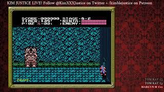 Kim Justice LIVE Playing...Ninja Gaiden (NES)