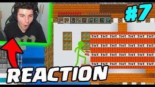 REACTION: Animation Vs Minecraft! #7