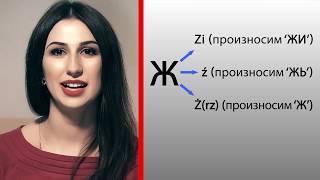 Урок 5. Разница между zi, ź, ż. Лучшие Уроки Польского.