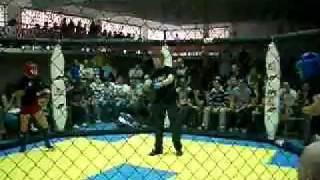 Javier Abril vs David Salgado -65kg (2asalto)  Open de Euskadi MMA
