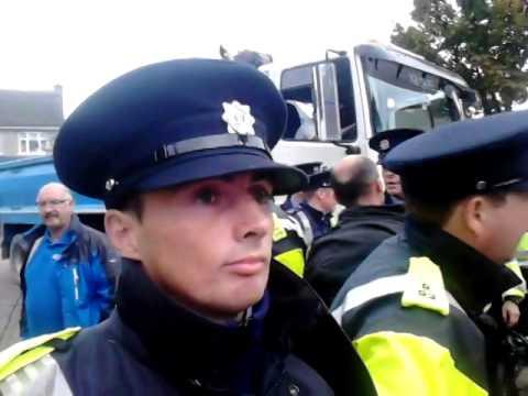 Protest against Irish water