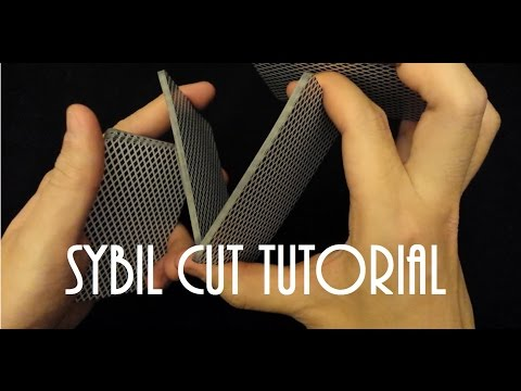 SYBIL CUT TUTORIAL [4段假切牌教學]SUN X
