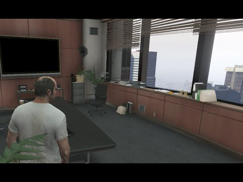 Grand Theft Auto 5 - BREAKING Into The IAA Building (AFTER Story Mode)