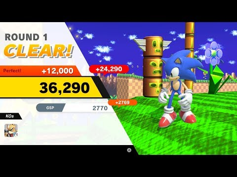 Super Smash Bros. Ultimate [Classic Mode: Sonic] (No Commentary)