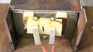 Проще некуда! Что можно сделать из трансформатора микроволновки!