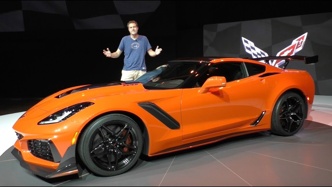 Here's a Tour of the 2019 Chevy Corvette ZR1