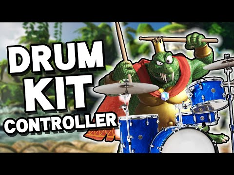 I Play Smash Bros. Ultimate with a Drum Kit thumbnail
