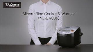 Zojirushi NL-BAC05 Fuzzy Logic Micom Rice Cooker