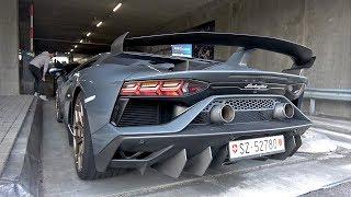 2019 Lamborghini Aventador SVJ - Lovely Sounds!