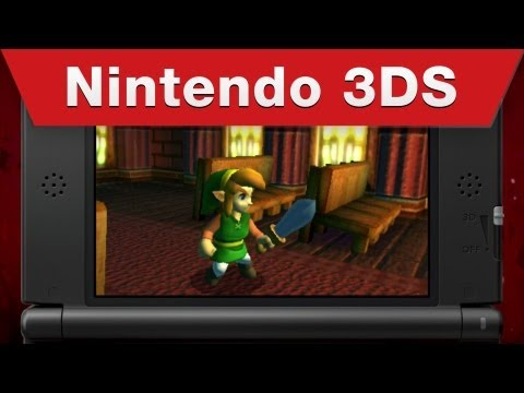 Nintendo 3DS and 2DS - The Legend of Zelda: A Link Between Worlds Trailer