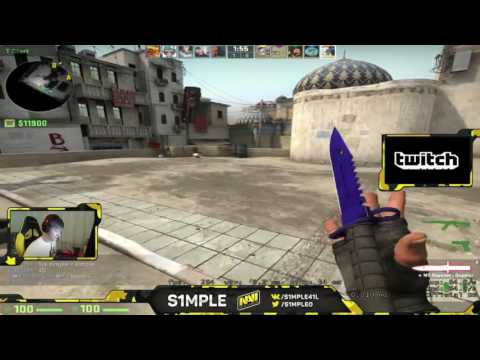 CS:GO - ROAD TO GE - s1mple stream 25/10 [DUST 2]