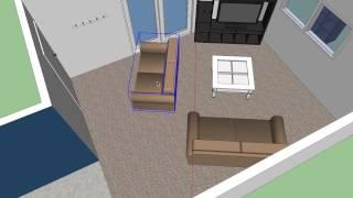 Sketchup #61: Rearranging Furniture