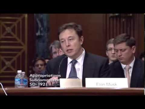 Senate hearing on National Security Space Launch Programs with Elon Musk