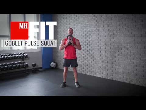 How to Do a Goblet Squat the Right Way - Dan John Goblet Squat Workout