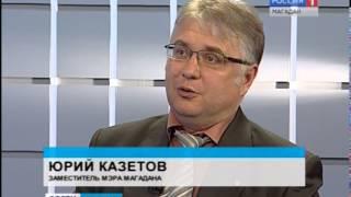 О том, как планируют отпраздновать юбилей Великой Победы, интервью с заместителем мэра Магадана Юрие(, 2015-05-07T07:51:56.000Z)