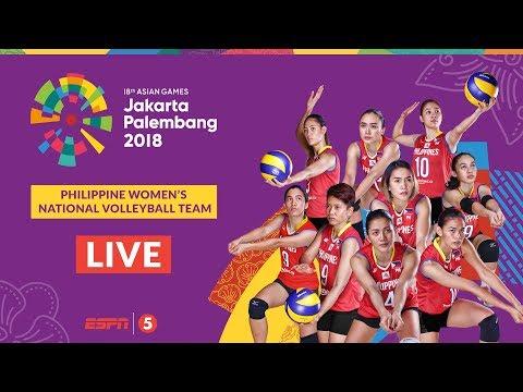 Kazakhstan def. Philippines, 3-2 (REPLAY VIDEO) Asian Games 2018 Women's Volleyball