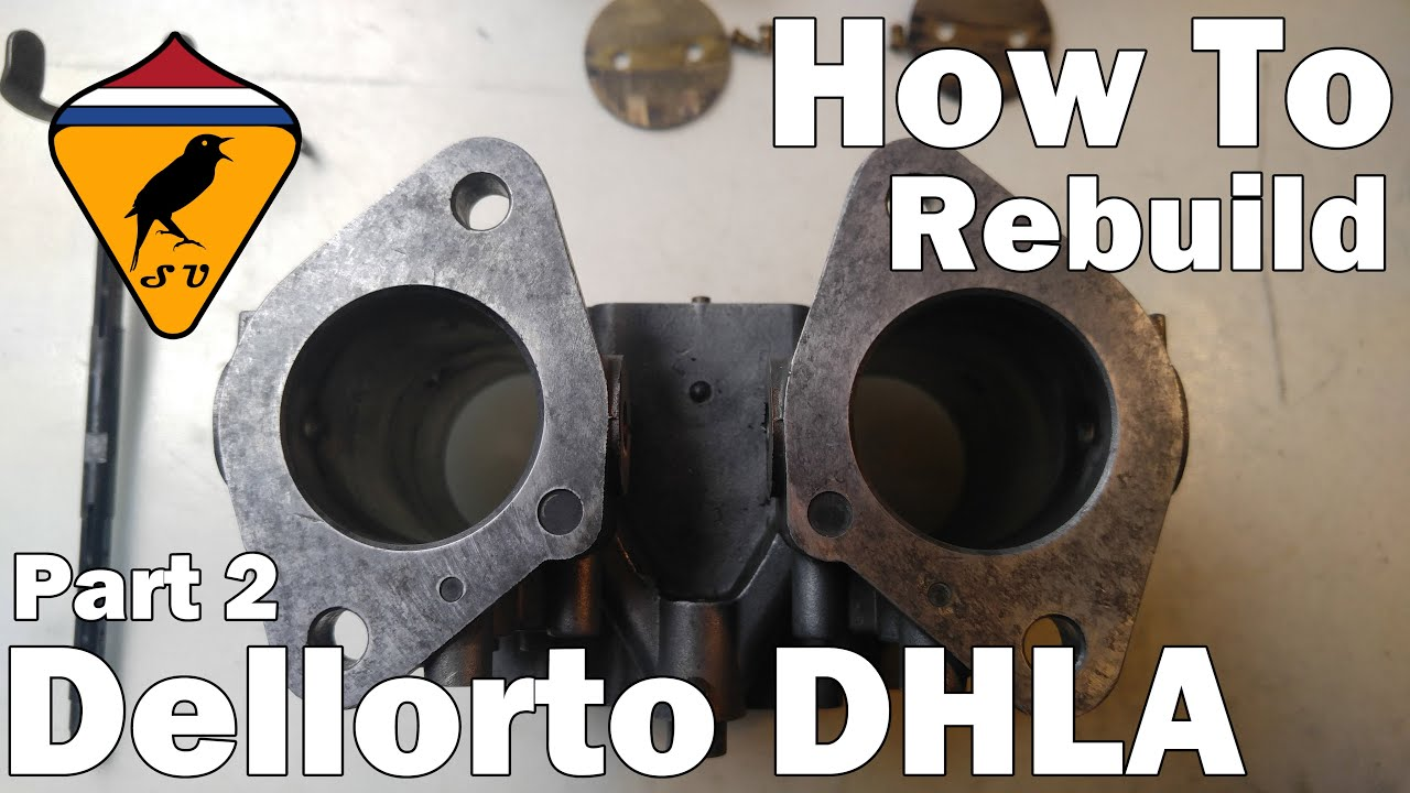 S U  - Project Dell'Orto DHLA Carburettor Part 2 (How to replacing the  bearings)
