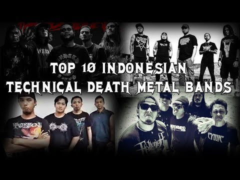 TOP 10 INDONESIAN TECHNICAL DEATH METAL BANDS