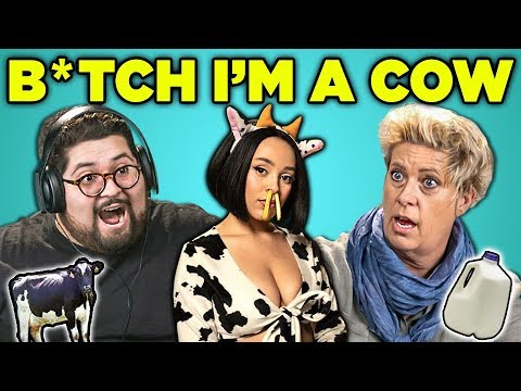 Adults React To B*tch Im A Cow Doja Cat - Mooo