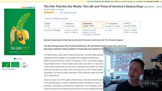 Book Review - The Fish That Ate the Whale by Rich Cohen