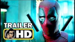 DEADPOOL 2 Official Extended Trailer (2018) Ryan Reynolds Superhero Movie HD