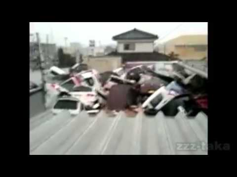 Tsunami in Ishinomaki, Miyagi Prefecture, Japan (3) (INSIDE HOME) (FULL)
