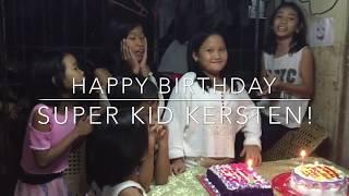 Happy birthday Super Kid Kersten! | Super Kids Official
