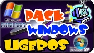 Excelentes Windows XP Lite Ligeros, para tu PC de bajos Recursos