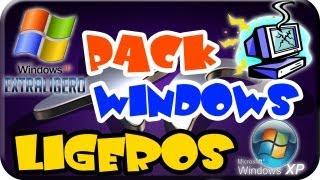 Excelentes Windows XP Lite Ligeros, para tu PC de bajos Recursos