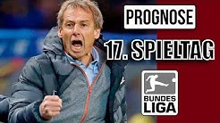 1. BUNDESLIGA PROGNOSE │17. SPIELTAG - ES GEHT IN DIE WINTERPAUSE!