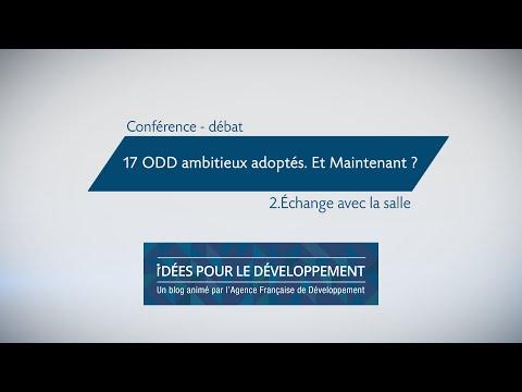 17 ODD ambitieux adoptés. Et maintenant ? (Partie 2/2)