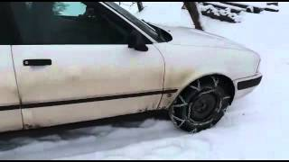 Snow chains 2wd like a 4wd