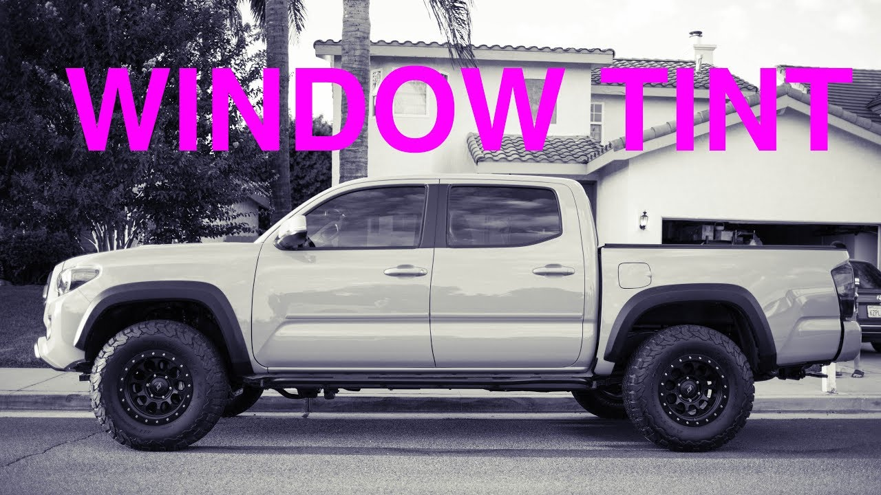Tinted Windows On Taco What You Have 3rd Gen Toyota Tacoma Forum Tacoma3g Com