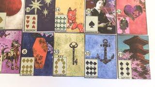 Как делать большой расклад на 36 карт ленорман, урок 11