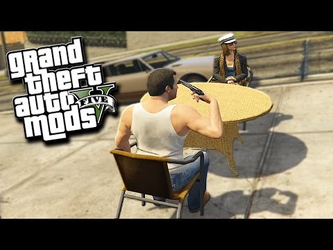 GTA 5 Mods - RUSSIAN ROULETTE 2! (Grand Theft Auto 5 PC Mods Funny Moments)