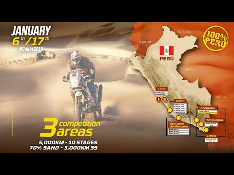Dakar 2019 vai ser mais curto e mais traiçoeiro