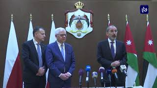 الأردن يعرب عن قلقه إزاء تطورات القضية الفلسطينية - (18-5-2019)
