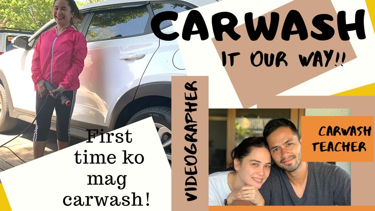 CARWASH IT OUR WAY!