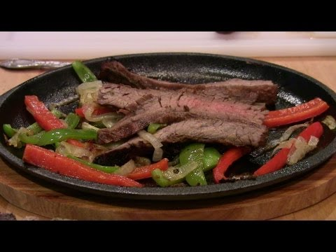 Fajitas: Tex-Mex Style Sizzling Steak
