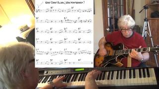 West Coast Blues - guitar & piano jazz cover ( Wes Montgomery ) Yvan Jacques