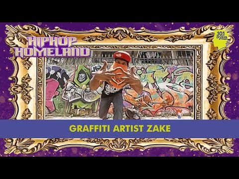 Zake: Graffiti Artist | Hip Hop Homeland | Unique Stories from India
